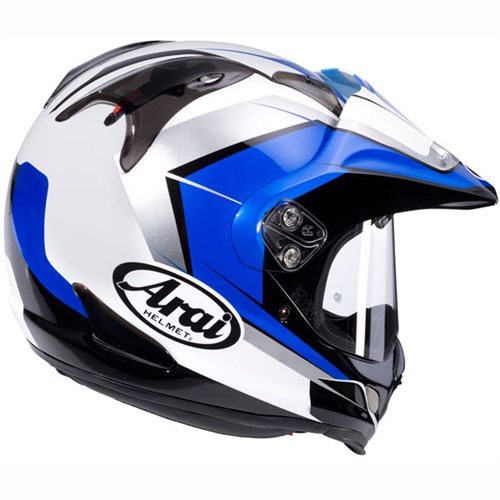 arai tour x4 flare helmet blue. Black Bedroom Furniture Sets. Home Design Ideas