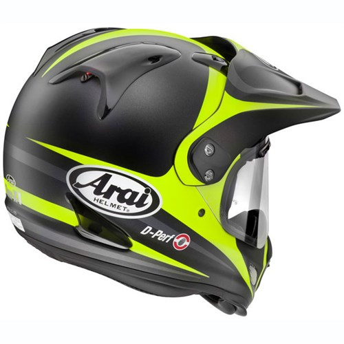 arai tour x4 route helmet yellow. Black Bedroom Furniture Sets. Home Design Ideas