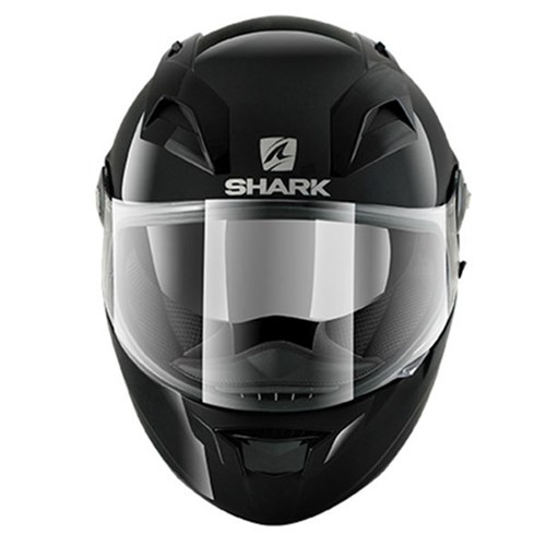 shark vision r blank helmet in gloss black. Black Bedroom Furniture Sets. Home Design Ideas