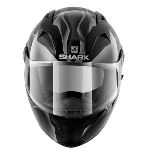 shark vision r smoke helmet black. Black Bedroom Furniture Sets. Home Design Ideas