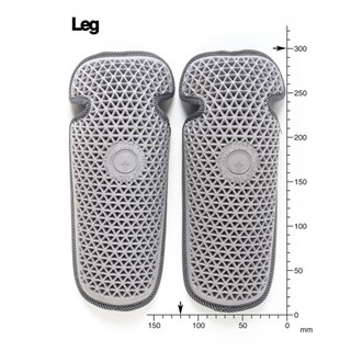 Forcefield upgrade knee armour 2 piece Alternative Image1