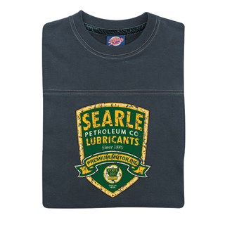 Retro Legends Searle Motor Oil T-sweat blueAlternative Image1