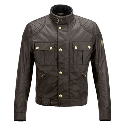 However, a waxed jacket is in theory a type of rain coat made from waxed cotton cloth (making it waterproof). It is a traditional British icon wardrobe staple and most people connect it to country walks, horse riding and other activities that middle class people partake in.