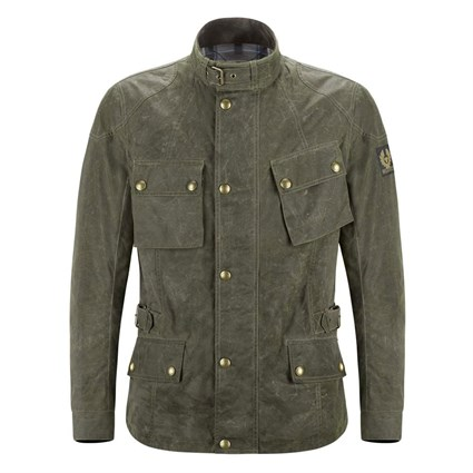 Belstaff Crosby Vintage Wax jacket - British Racing Green