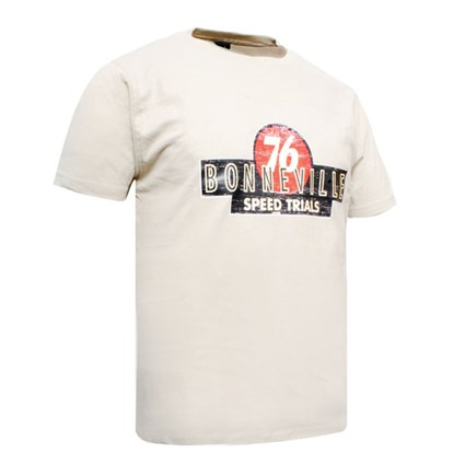 SoCal Bonneville 76 T-shirt cream
