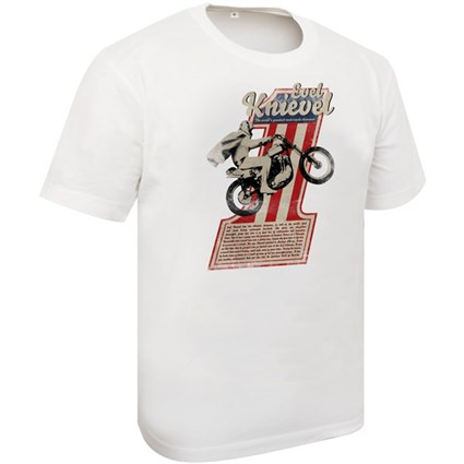 SoCal Evel Knievel T-shirt white