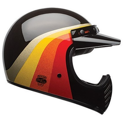 Bell Moto-3 Chemical Candy Helmet - Black/Gold
