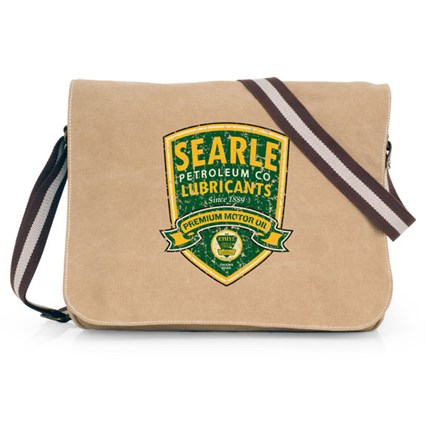 Retro Legends Searle Motor Oil bag