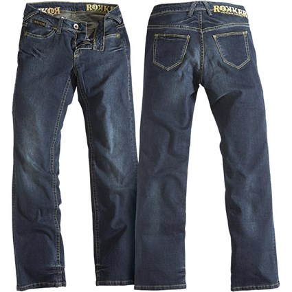 Rokker The Lady jeans - Stonewashed