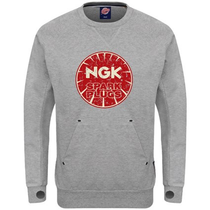 Retro Legends NGK sweatshirt - grey