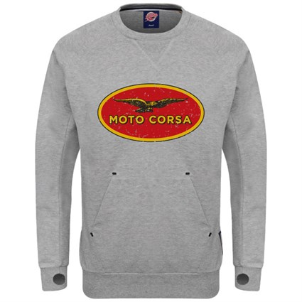 Retro Legends Moto Corsa sweatshirt - grey