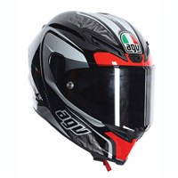 AGV Corsa Circuit helmet - white/black/red