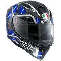 AGV K5 Hurricane helmet - white/blue/black