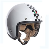 AGV RP60 Checkered Flag helmet