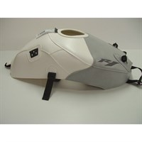 Bagster Tank cover YZF R1 - white / light grey