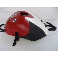 Bagster Tank cover S1000 RR / S1000 RR HP4 - white / red / carbon triangle