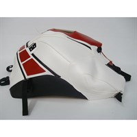 Bagster Tank cover FZ 8 - white / red deco / black / 50th anniversary