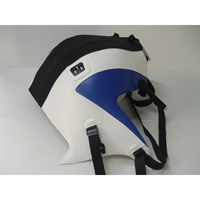Bagster Tank cover G650 GS - matt black / white / gitane blue deco