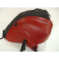 Bagster Tank cover V STROM DL 650 - matt black / red