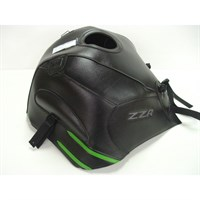 Bagster Tank cover ZZR 1400 - black / green deco