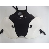 Bagster Tank cover V STROM DL 1000 - matt black / white