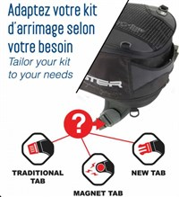 Bagster STD Adaptor for Tank Bags