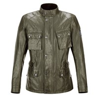 Belstaff Crosby Wax Cotton jacket - British Racing Green