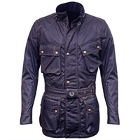 Belstaff Trialmaster Wax Cotton Jacket - Navy
