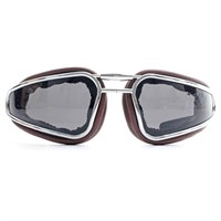Baruffaldi Easy Rider Goggles - Brown