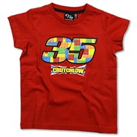 Crutchlow Kids T-Shirt Red