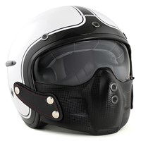 Harisson Corsair helmet white/black