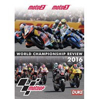 The Official 2016 Moto 2 & Moto 3 Review DVD