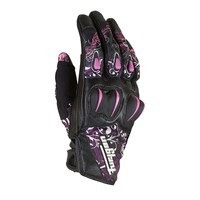 Furygan Lady Graphic gloves black/pink