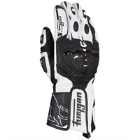 Furygan AFS 19 gloves - Black/White
