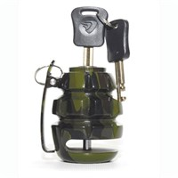Hand Grenade Bike Disc Lock Green