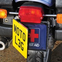 First Aid Number Plate Box