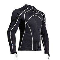 Halvarssons Torso Zip Top Black