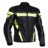 Halvarssons Gobi jacket black/high vis