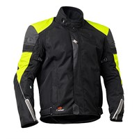 Halvarssons Amazonas Jacket Black/Yellow