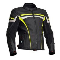 Halvarssons Chrome jacket - black/yellow