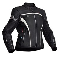 Halvarssons Cam Ladies jacket - Black/white/carbon