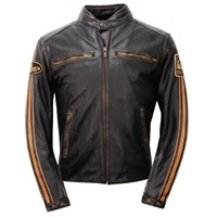 Helstons Ace Vintage jacket brown