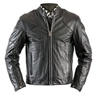 Helstons Heat Perforated Black Jacket