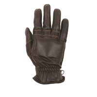 Helstons Velvet Brown Summer Glove