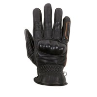 Helstons Monza Black and Brown Summer Glove