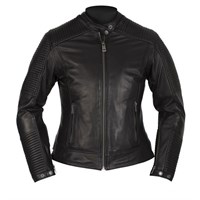 Helstons Razzia Ladies Black Leather Jacket