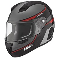 Schuberth SR2 helmet - Lightning Red