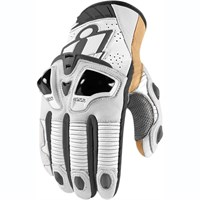 Icon Hypersport Pro Short Gloves - White