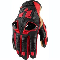 Icon Hypersport Pro Short gloves - red