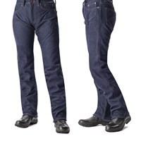 Kushitani Explorer Leather Jeans - Dark Blue
